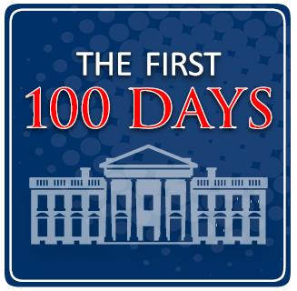 First 100 Days Logo