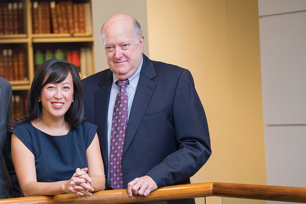 Patty Wu and Larry Boggs.