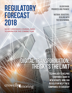 Regulatory Forecast 2018
