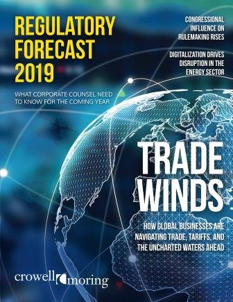Regulatory Forecast 2019 cover