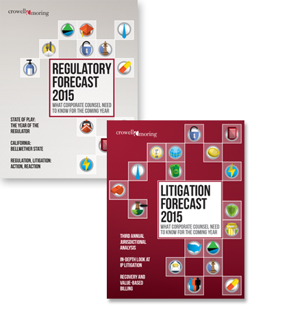 Litigation & Regulatory Forecasts 2015