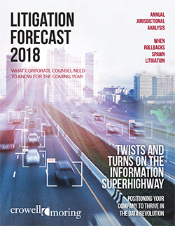 Litigation Forecast 2018
