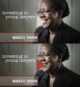 Monica Parham: Investing in Young Lawyers